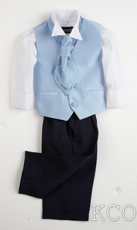 Sicily Sky Blue~ Boys Suits
